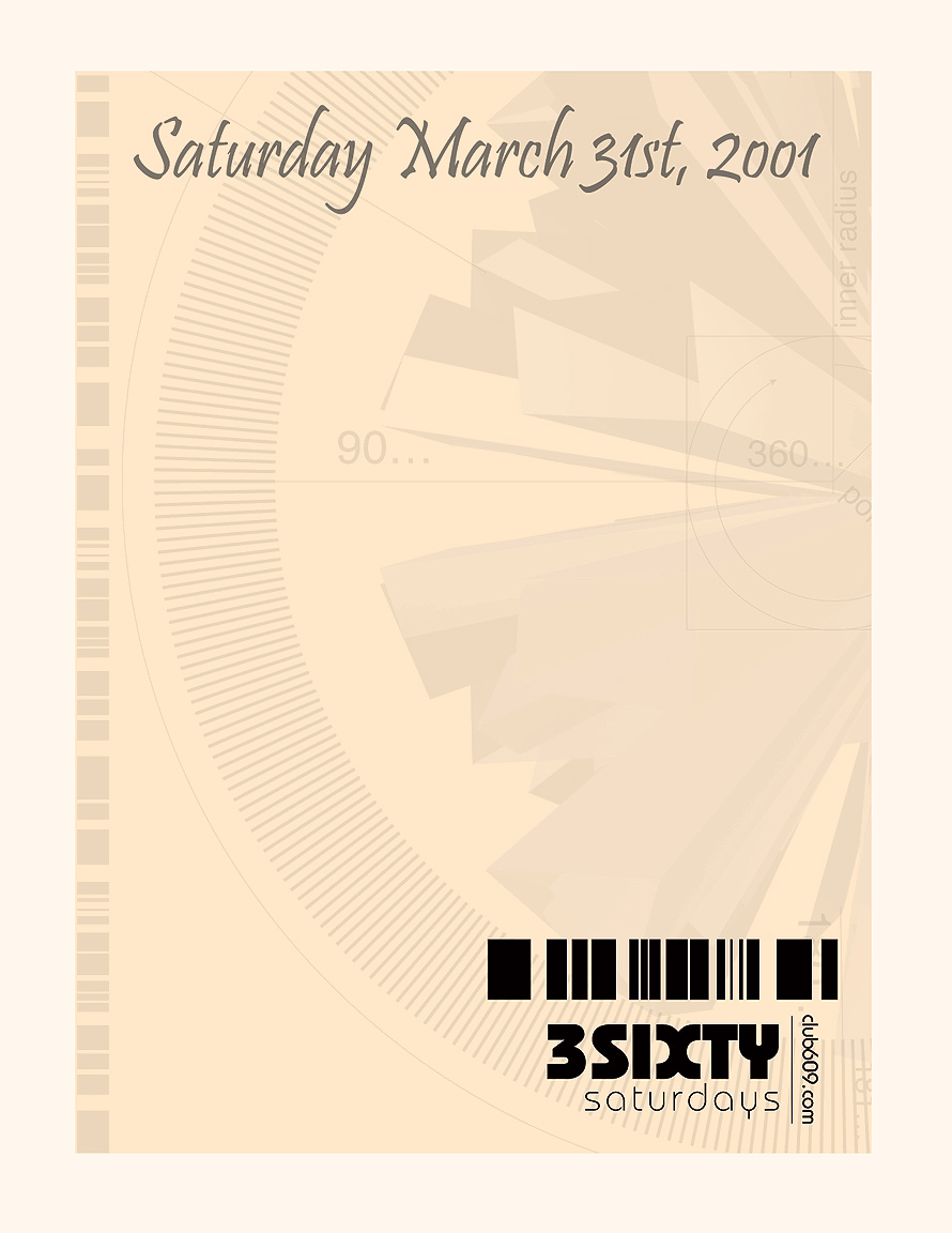 3Sixty Open Bar at Club 609