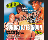 Black College Spring Break Party at Thunder Alley - tagged with make a left