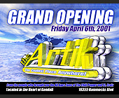Grand Opening at The Artik - created March 09, 2001