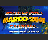 Marco Island Memorial Day Weekend - created March 2001