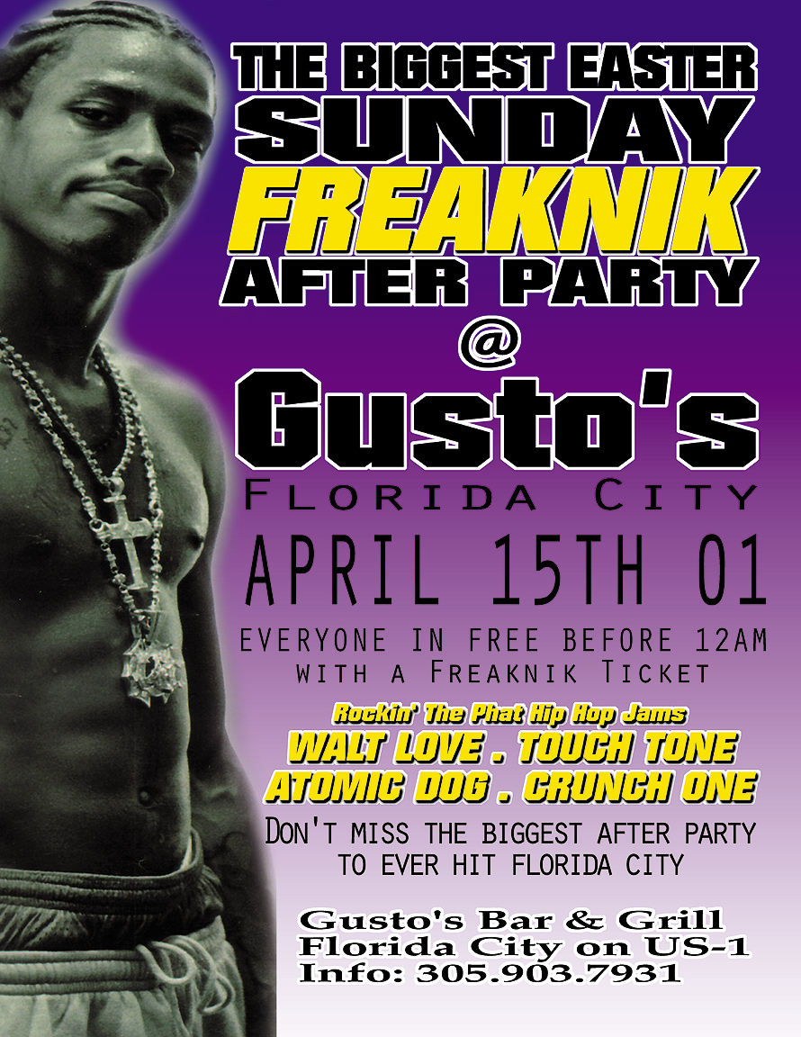 Freaknik After Party at Gusto's