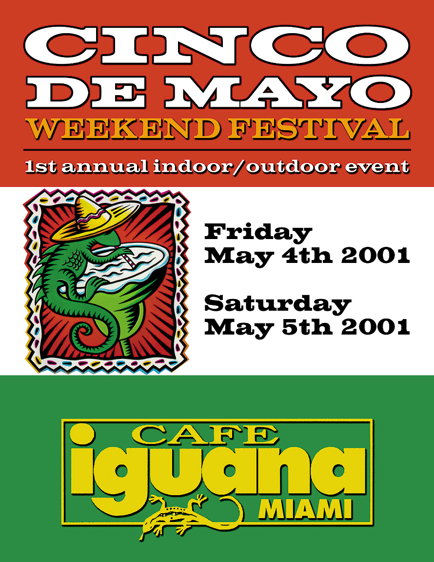 Cinco de Mayo at Cafe Iguana Miami