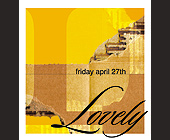 Lovely at 320 Nightclub - created April 2001