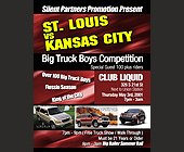 Big Boys Truck Competition at Club Liquid - tagged with vs