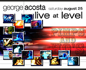 George Acosta Live at Level - tagged with level nightclub