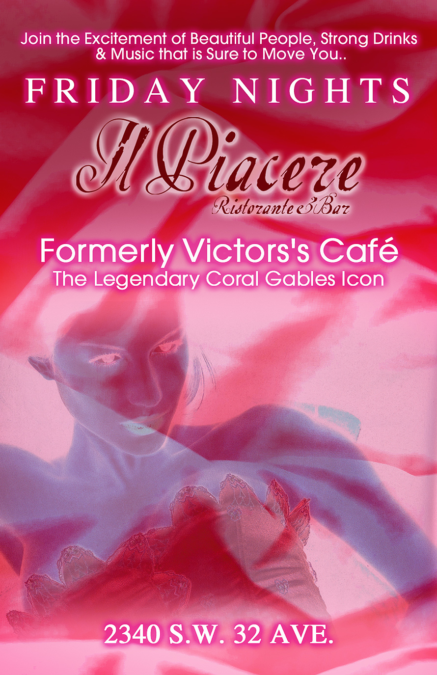 Friday Nights at Il Piacere