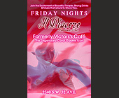 Friday Nights at Il Piacere - created April 17, 2001