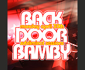 Back Door Bamby Mondays at Crobar - created April 17, 2001