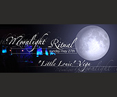 Moonlight Ritual with Little Louie Vega at Opium Garden - Flyer Printing