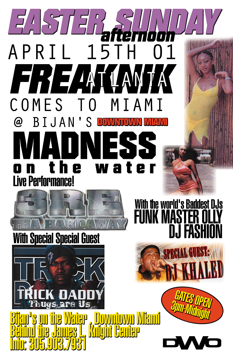 Freaknik Atlanta Easter Sunday at Bijan's on the Water