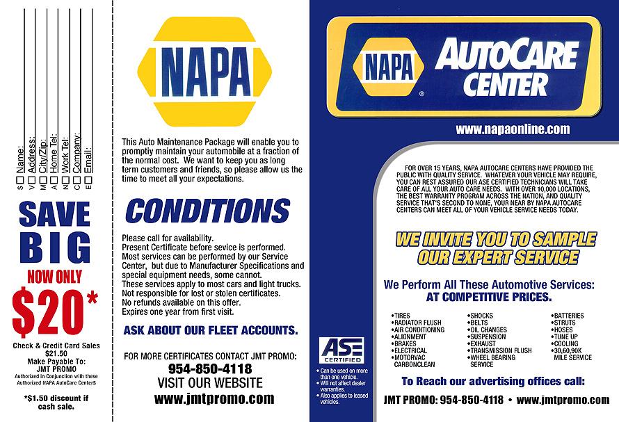 Napa Auto Center