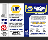 Napa Auto Center - created April 02, 2001