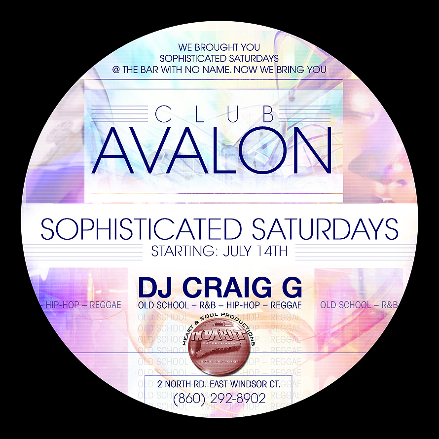 Sophisticated Saturdays at Club Avalon