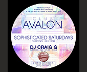 Sophisticated Saturdays at Club Avalon - tagged with no sneakers
