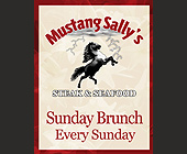 Sunday Brunch Every Sunday at Mustang Sally's - Restaurant