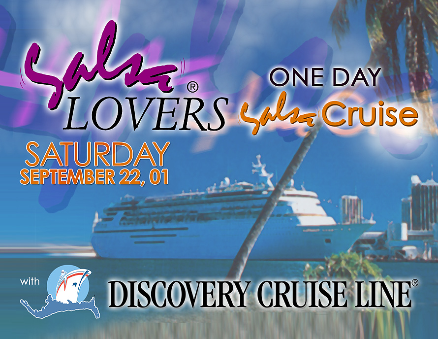 Salsa Lovers on Discovery Cruise Line