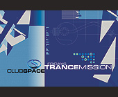 Fridays Trance Mission at Club Space with DJ Edgar V - tagged with geometric