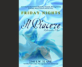Friday Nights at Il Piacere - created April 2001