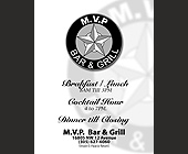 MVP Bar and Grill - created April 30, 2001