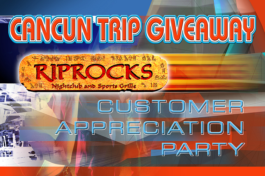 Riprocks Cancun Trip Giveaway