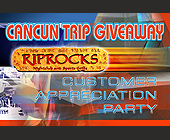 Riprocks Cancun Trip Giveaway - Restaurant