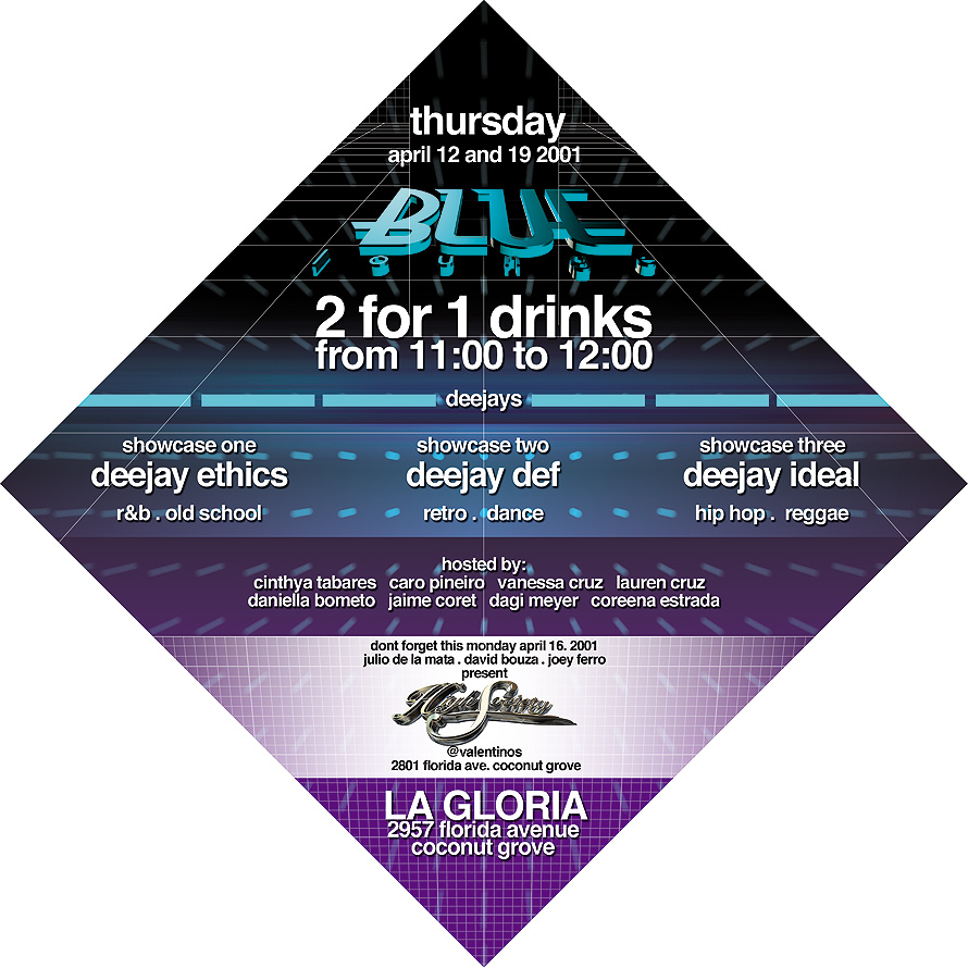 Blue Lounge at La Gloria Coconut Grove