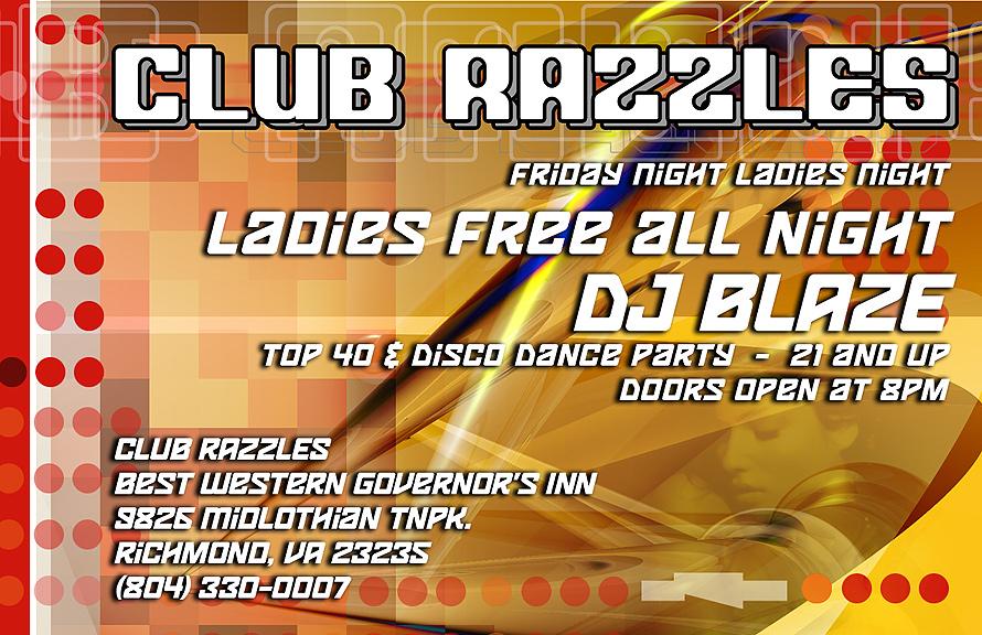 Club Razzles Ladies Night