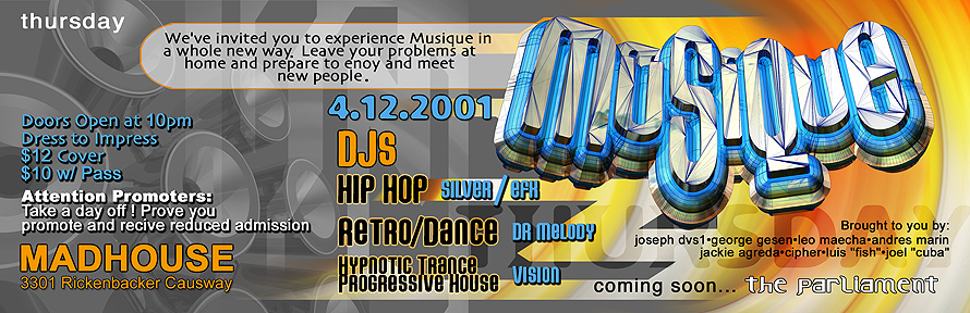 Musique at Madhouse