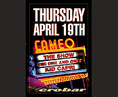 Kid Capri at Crobar Cameo Theater - tagged with cameo logo