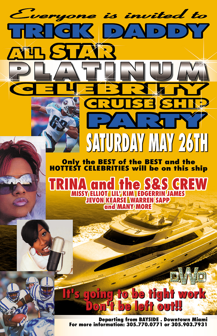 Trick Daddy All Star Weekend Celebrity Cruise