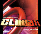 Climax Saturdays at Pleasure Mediterranean Bar - tagged with 4.25 x 3.5