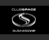 Club Space Business VIP Card - 538x913 graphic design