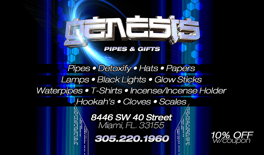 Genesis Pipes and Gifts Miami Smoke Shop