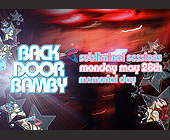 Back Door Bamby Mondays at Crobar - tagged with 312.413.7000