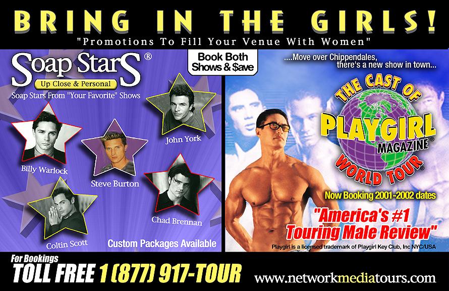 Network Media Tours Soap Stars