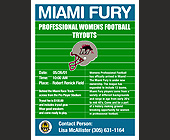 Miami Fury Pro Womens Football Tryouts - tagged with atlanta