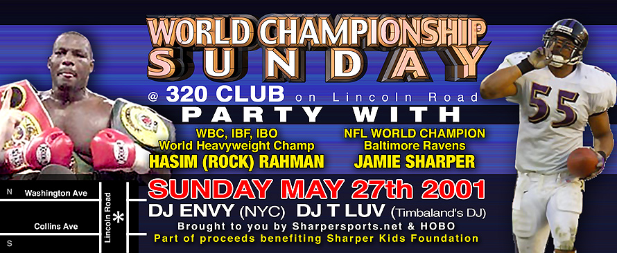 World Championship Sunday at Club 320