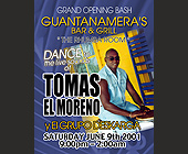 Guantanamera's Bar and Grill Grand Opening - tagged with valet parking available