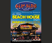 Slip n Slide Records at the Beach House Party in Virgina Key Beach - tagged with eve