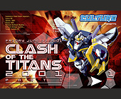 Clash of the Titans at Orbit Nightclub - created May 18, 2001