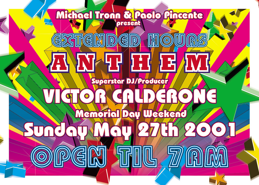Anthem Extended Hours at Crobar