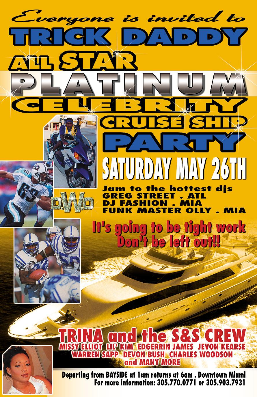 Trick Daddy All Star Platinum Celebrity Cruise