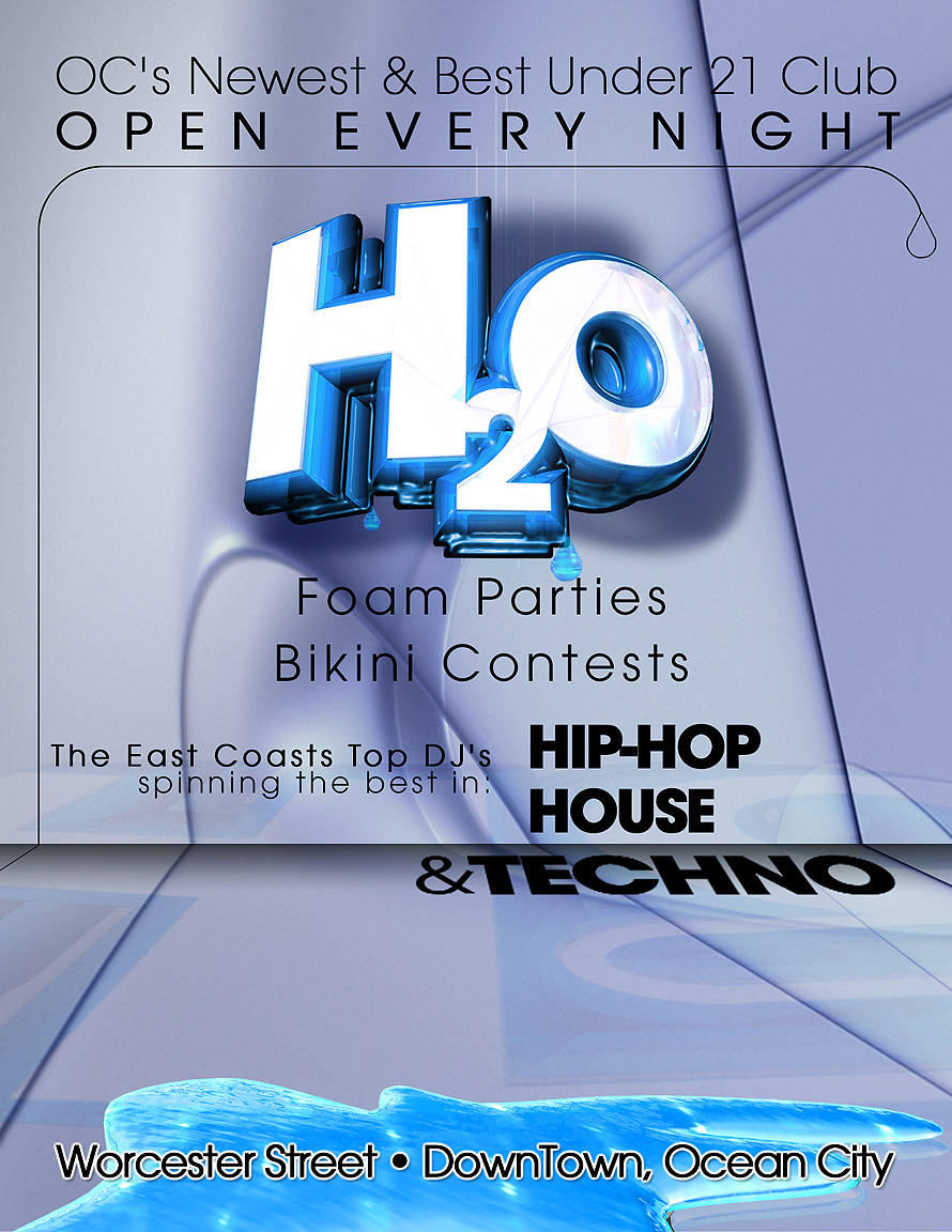 Foam Parties and Bikini Contests at H2O