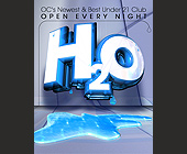Foam Parties and Bikini Contests at H2O - tagged with downtown