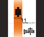 Episode 11 at Salvation Nightclub - Salvation Graphic Designs
