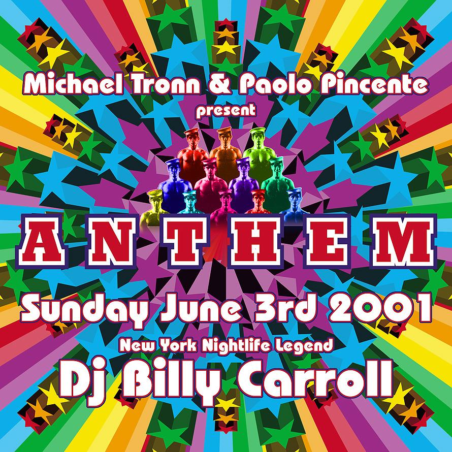 Anthem Billy Carroll at Crobar