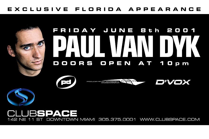 Paul Van Dyk at Club Space Miami