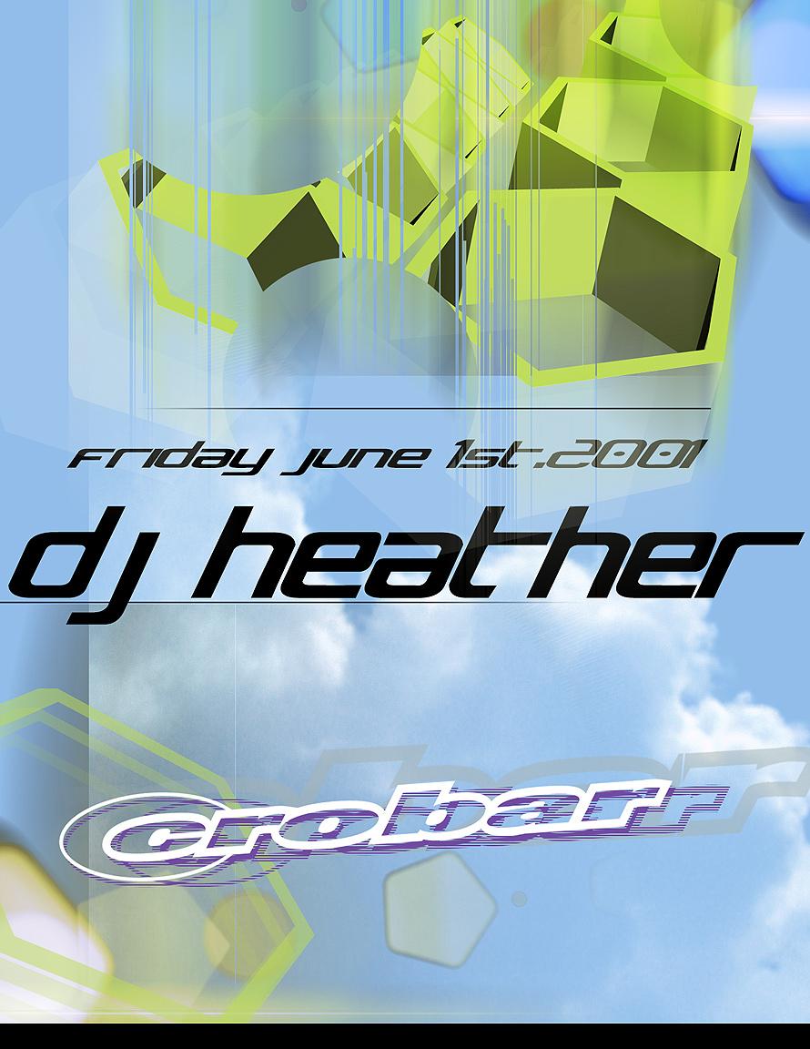 DJ Heather at Crobar