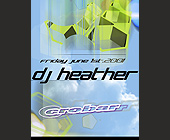 DJ Heather at Crobar - tagged with complimentary admission