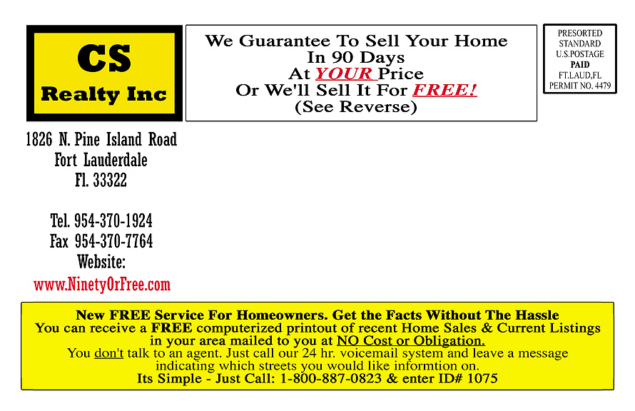 C.S. Realty Inc South Florida